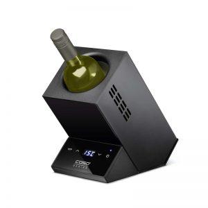 Електрически охладител за една бутилка вино Caso Wine Case One Black