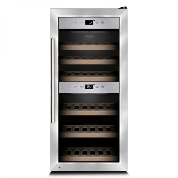 Хладилна витрина за охлаждане на вино CASO 645 WineComfort 24