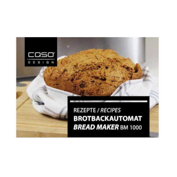 Готварска книга за хляб с BM 1000